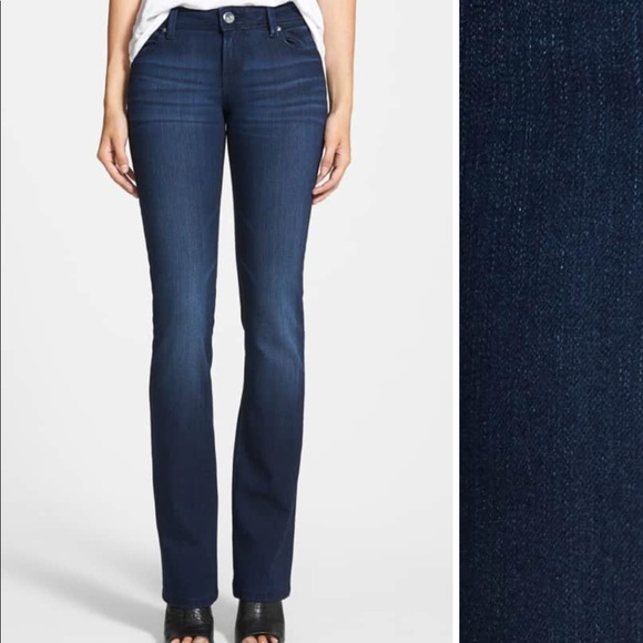 06d2b996d0455 DL1961 Jeans   Cindy Slim Boot Cut Sz 26 Dark Blue   Poshmark